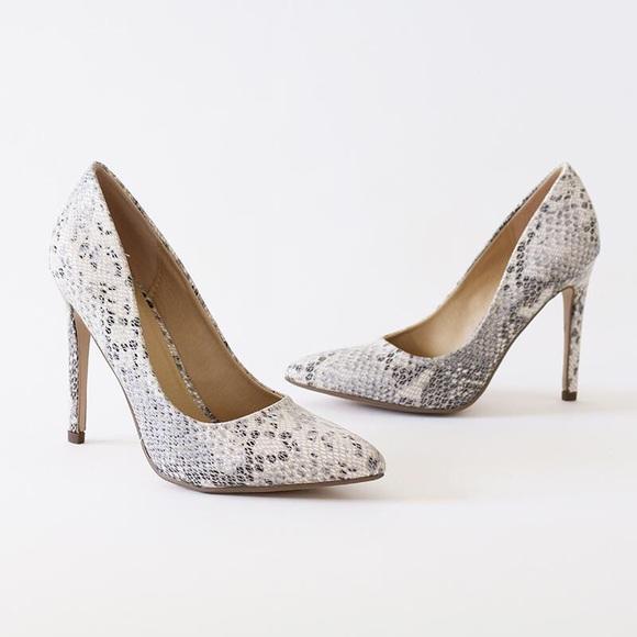 82ec33543d8 cindy python high heel pump stiletto. NWT. Delicious